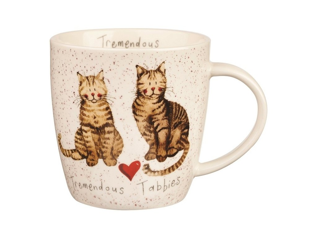 Tremendous tabbies 0,4 l - porcelánový hrnek s motivem koček